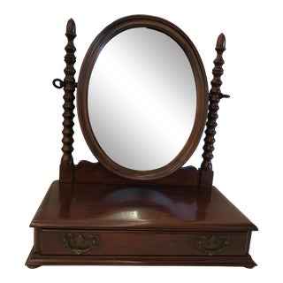 20th Century Traditional Tabletop Vanity Mirror For Sale