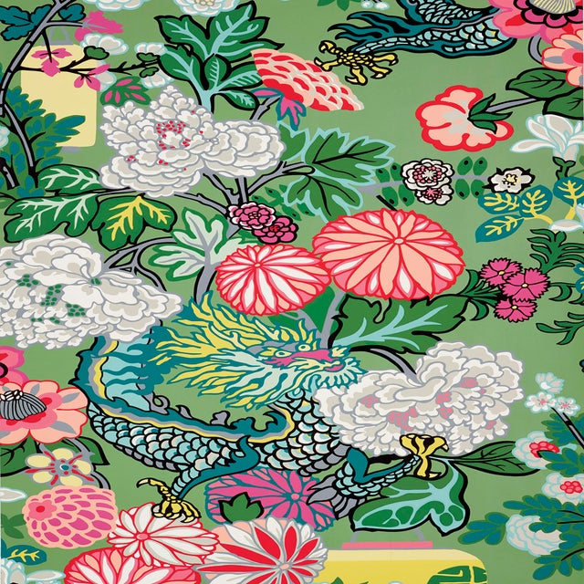 An instant hit from the moment we introduced it, this is one of our best-loved designs. The chinoiserie motif was inspired...