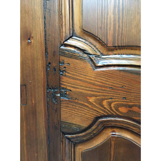 Brown Set of Two French Provincial Country Interior Doors For Sale - Image 8 of 10