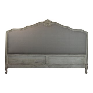 French Shell Carved King Size Headboard