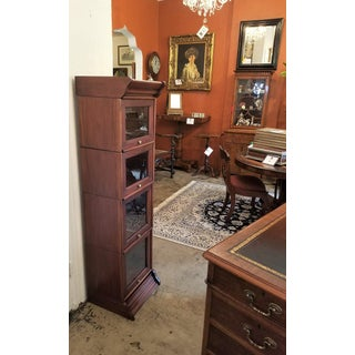 William IV Teak Barristers Bookcase of Neat Proportions Preview