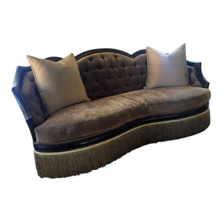 Schnadig Old World French Styling Degas Sofa For Sale