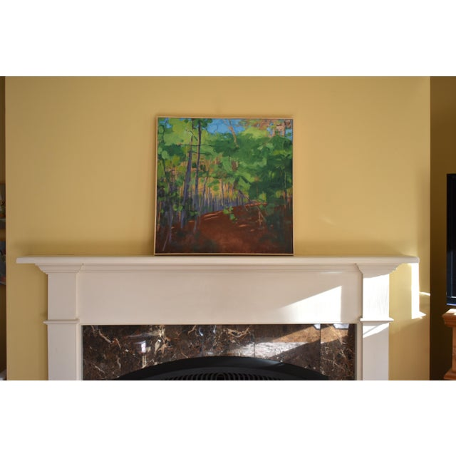 """Stephen Remick """"Late Afternoon"""" Contemporary Painting For Sale - Image 10 of 11"""
