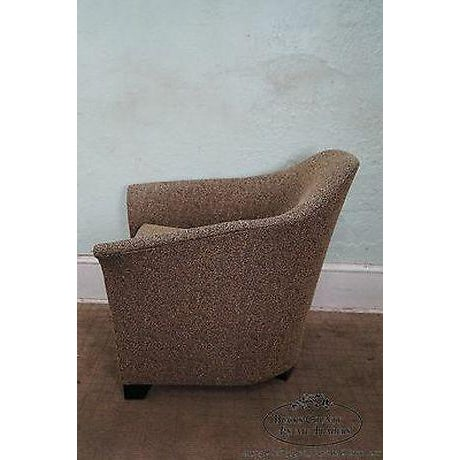 Mid-Century Modern Thomasville Casa Bique Leopard Print Club Lounge Chair For Sale - Image 3 of 13