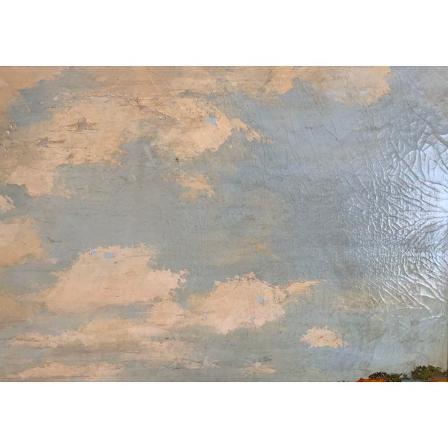 French Seascape Painting by Lois Clark, Framed For Sale In Los Angeles - Image 6 of 13