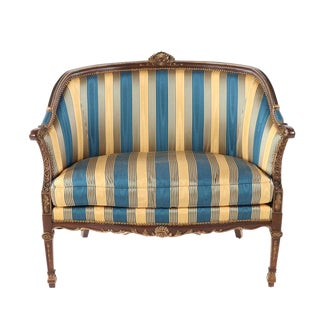 Stanford Furniture French Provincial Louis XVI Settee For Sale