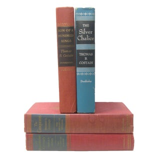 Thomas B. Costain Book Collection, Set of 4 For Sale