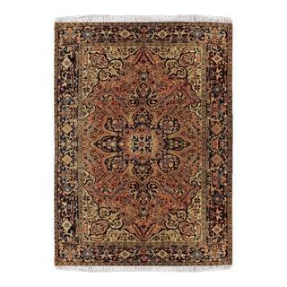 1950s Vintage Heriz Wool Persian Rug-8′7″ × 11′5″ For Sale
