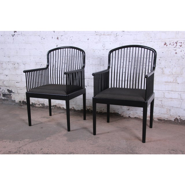 Stendig Andover Black Spindle Armchairs - a Pair For Sale - Image 13 of 13