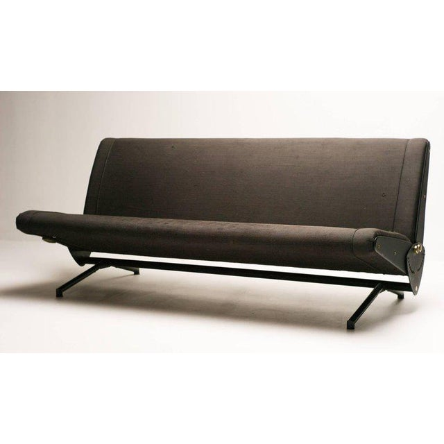 Gray Sofa Daybed D70 Designed by Osvaldo Borsani for Tecno For Sale - Image 8 of 8