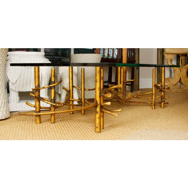 American Coffee Table Attributed to Silas Seandel For Sale - Image 3 of 6