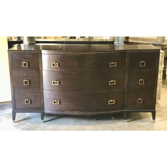 Traditional Dark Walnut Dresser For Sale In Charlotte - Image 6 of 6