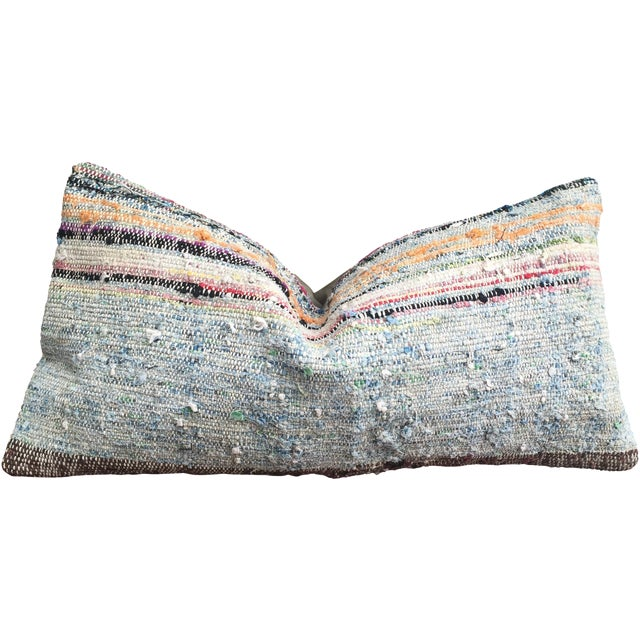 Moroccan Striped Kilim Pillow Cover - Image 1 of 11