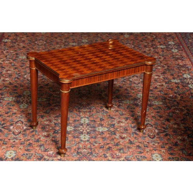 Jules Leleu Rectangular Coffee Table For Sale - Image 9 of 9