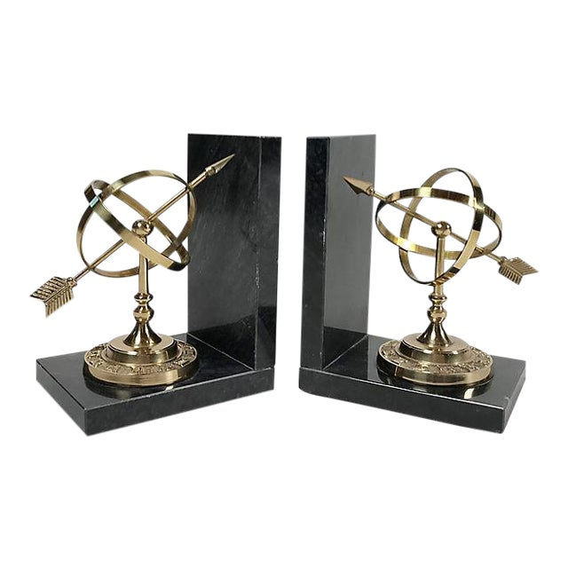 Armillary Sphere Bookends For Sale