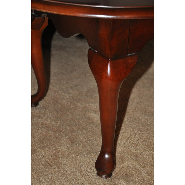 Thomasville Queen Anne Style Coffee Table