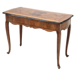 18th C. German Baroque Parquetry Console For Sale