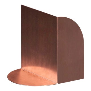 Tortuga Trifold Copper Limited Edition Bookend For Sale