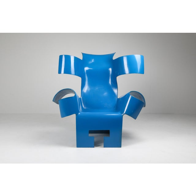 Functional Art Chair in the Style of Gaetano Pesce - 1980s For Sale - Image 6 of 11