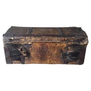 18th Century Antique Italian Trunk