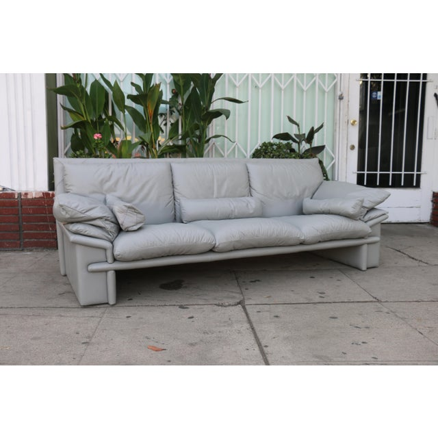 Nicoletti Italian Leather Sofa - Image 2 of 11