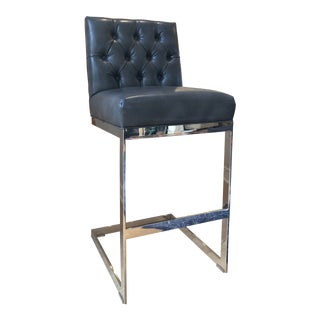 Sunpan Modern Club Cavalli Barstool For Sale