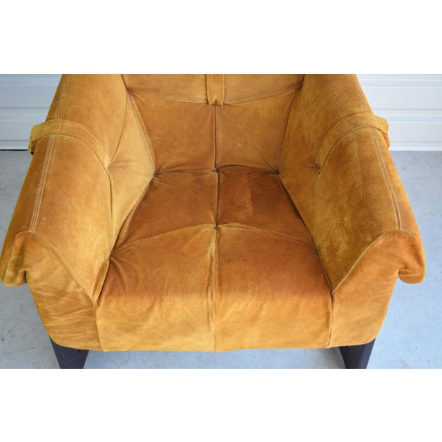 Animal Skin Percival Lafer Brazilian Rosewood & Suede Lounge Chairs - A Pair For Sale - Image 7 of 11