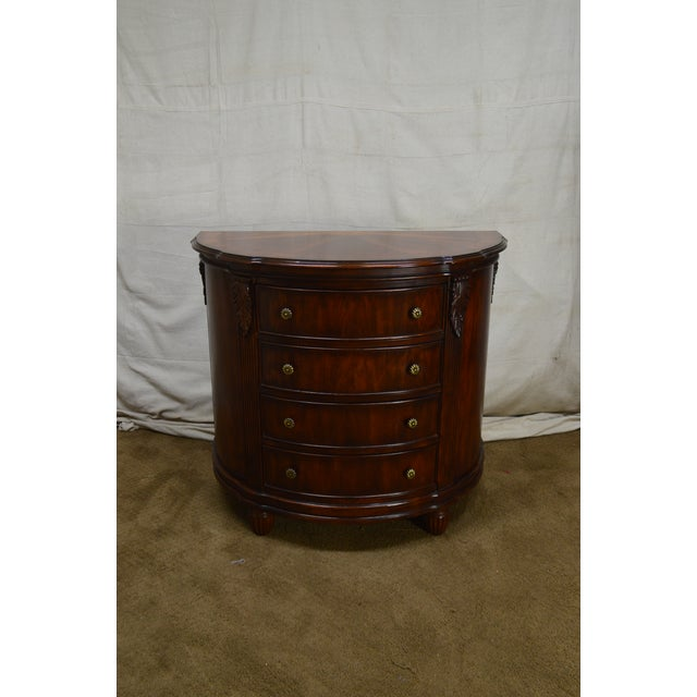 Hooker Furniture Seven Seas Collection Demilune Chest of Drawers For Sale In Philadelphia - Image 6 of 13