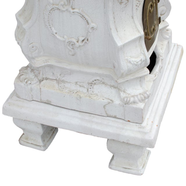 White 19th Century Antique Austrian Faience Kachelofen Stove For Sale - Image 8 of 13