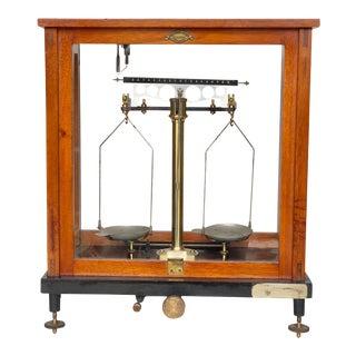 Antique Sartorius Werke Apothecary German Balance Scale For Sale