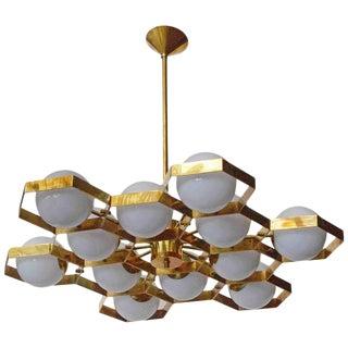 Honeycomb Chandelier by Fabio Ltd For Sale