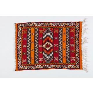 Berber Rug - Small With Detailed Geometric Design Preview