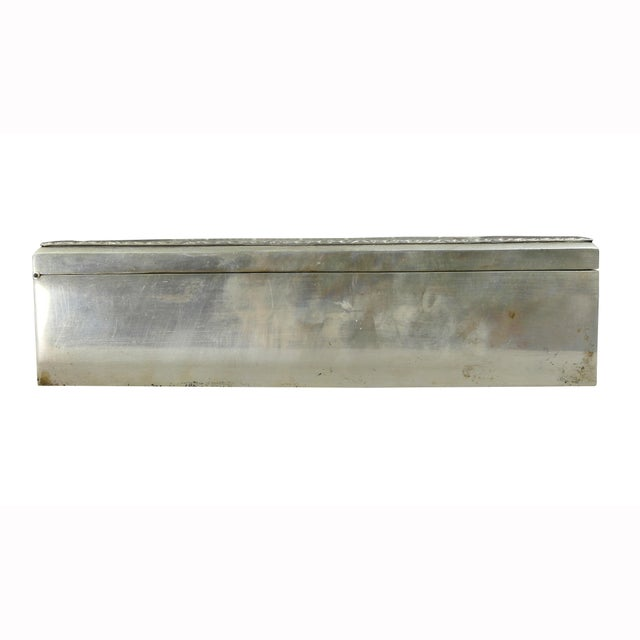 European Silver Box Containing Mother-Of-Pearl Counter Chips For Sale - Image 9 of 13