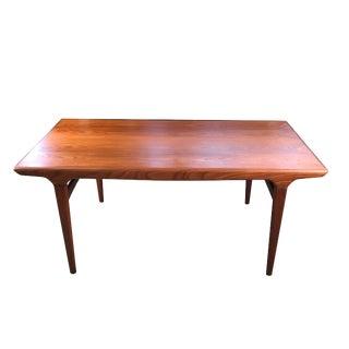 Vintage Danish Johannes Andersen Teak Dining Table