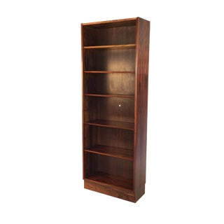 Vintage Danish Rosewood Tall Bookcase