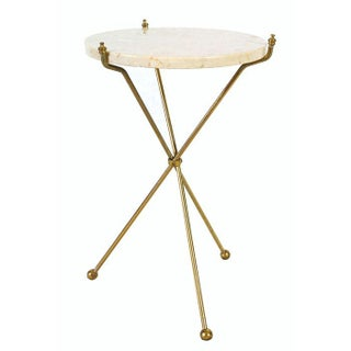 Italian Marble Tripod Table