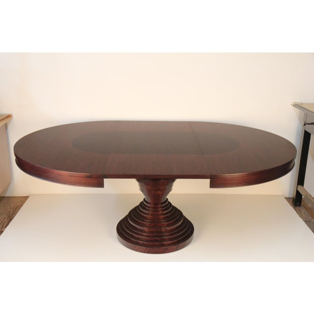 Mid-Century Modern Walnut Dining Table - Image 5 of 5