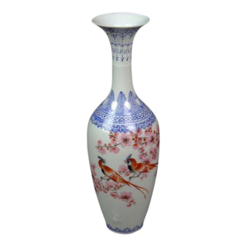 "Antique Chinese ""Eggshell"" Porcelain Vase - Image 1 of 7"