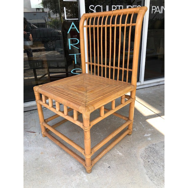 1980s Vintage Retro Boho Chic Accent Chair For Sale - Image 11 of 11