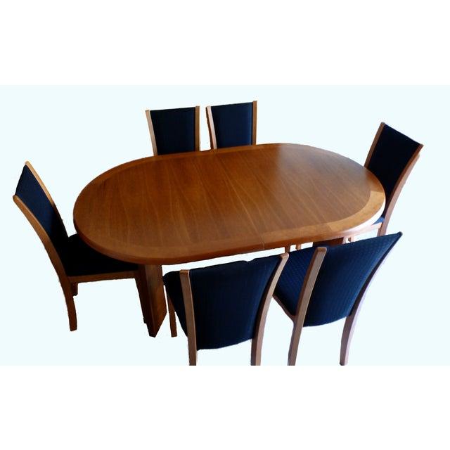 Skovby Kirsebaer Solid Cherry Dining Table | Chairish