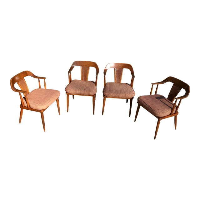 Tomlinson of High Point Mid Century Dining Chairs - Set of 4 For Sale