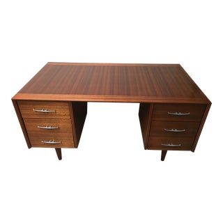John Keal for Brown Saltman Mahogany Executive Desk