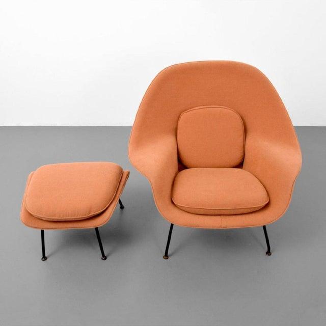 1960s Eero Saarinen Womb Lounge Chair and Ottoman, Usa, 1960s For Sale - Image 5 of 8