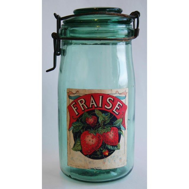 1930s French Canning Preserve Jars w/ Labels & Lids - Set of 3 - Image 6 of 8