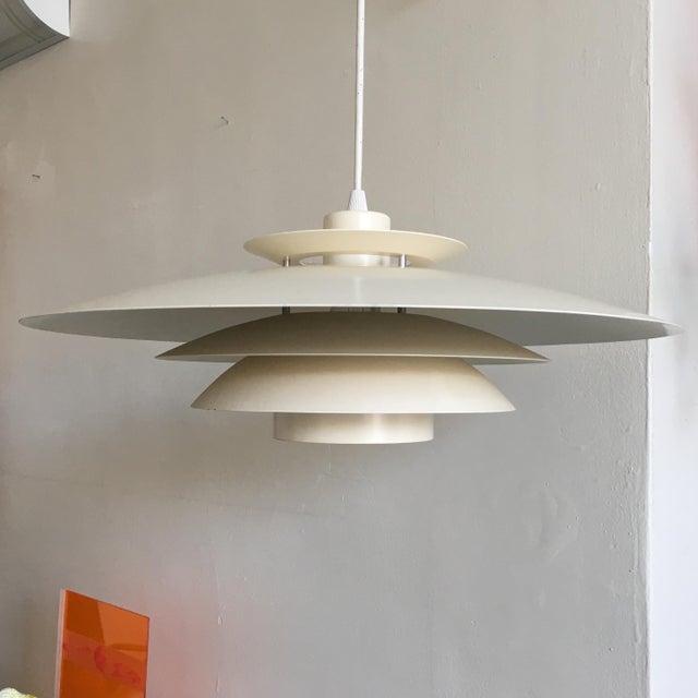 Vintage Danish Modern Pendant Light - Image 3 of 7