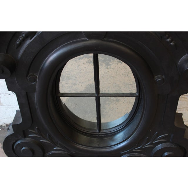 19th Century Antique French Cast Iron Dormer For Sale In South Bend - Image 6 of 12