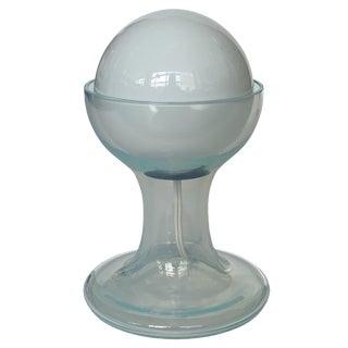 Carlo Nason Opalescent Murano Glass Petite Table Lamp for Mazzega For Sale