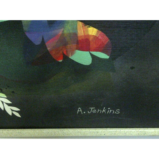 Multicolor Floral Painting by Aldrich Jenkins - Image 4 of 7