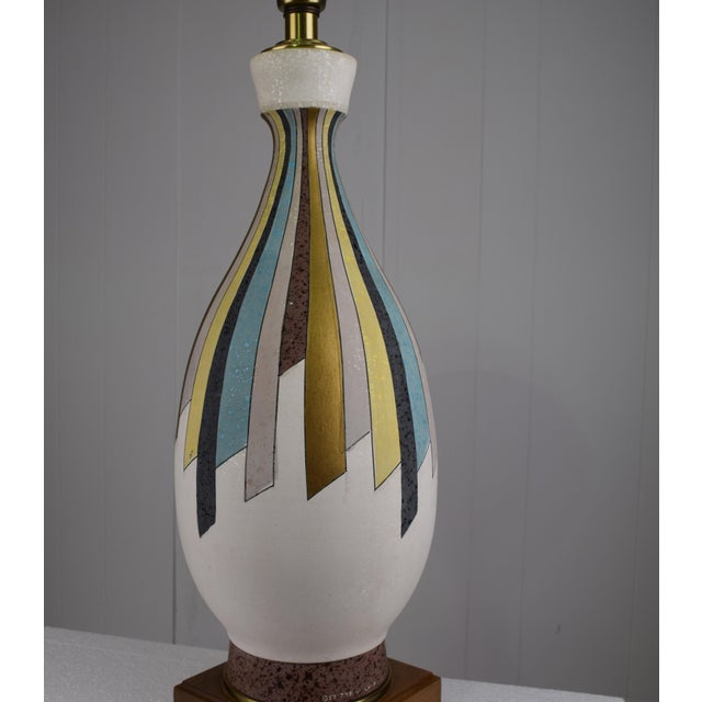Mid-Century Modern California Modern Table Lamp by Tye For Sale - Image 3 of 8