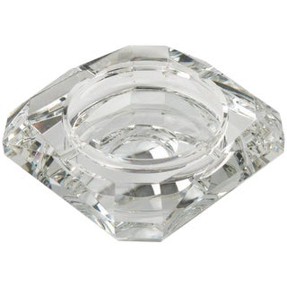 Jean Luce French Art Deco Mirrored Glass Cigar Ashtray